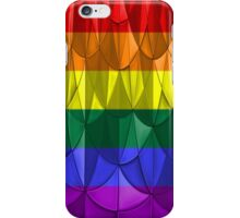 Geometric Rainbow Pride iPhone Case/Skin