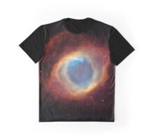 Helix Nebula Hubble Telescope Picture Graphic T-Shirt
