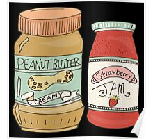 Peanut Butter And Jam Poster