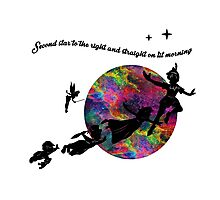 Second Star Peter Pan Photographic Print
