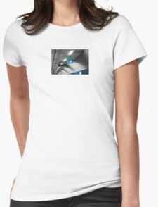 parliament train station Womens Fitted T-Shirt