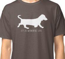 It's A Wienerful Life Classic T-Shirt