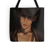 Sweetest tongue has sharpest tooth Tote Bag