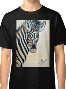 MY ZEBRA BABY - Burchell's zebra Classic T-Shirt