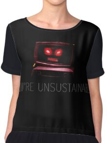 Unsustainable Chiffon Top