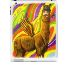 The Flying Llama Dude iPad Case/Skin
