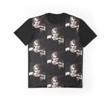 Flapper with Steampunk Eyes Graphic T-Shirt