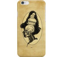 A Lady's X-ray iPhone Case/Skin