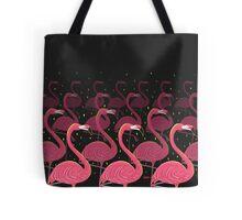 Flamingo March Tote Bag