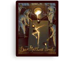 Dave Matthews Band - First Niagara Pavilion, Burgettstown 2016 - Exclusive Poster Canvas Print