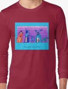 Police Line-Up - Dogs of Anahola Long Sleeve T-Shirt