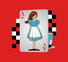 Alice 3D Flying Cards - Cut Out Unisex T-Shirt