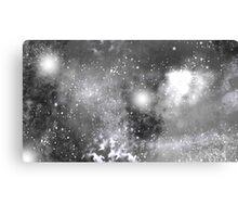 Monochrome Nebula  Canvas Print