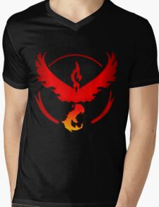 Pokemon GO: TEAM VALOR Mens V-Neck T-Shirt