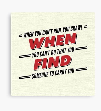 Firefly/Serenity Quote Canvas Print