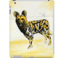 African Wild Dog Notes iPad Case/Skin