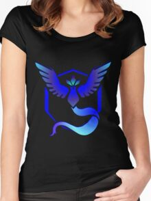 Pokemon GO: TEAM MYSTIC Women's Fitted Scoop T-Shirt