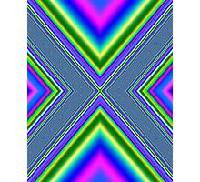 Psychedelic Geometry Photographic Print