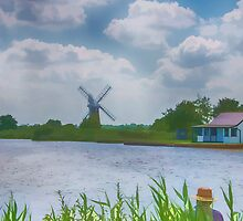 Fishing the Norfolk Broads  by Chris Thaxter