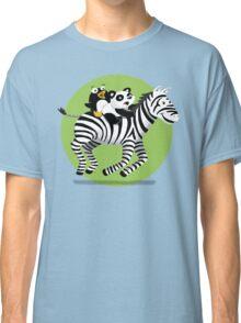 Black and White Buddies Classic T-Shirt