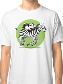 Black and White Buddies Classic T-Shirt