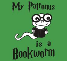 My Patronus Is A Bookworm Kids Tee