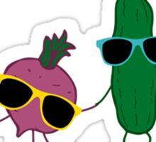 Cool vegetables Sticker