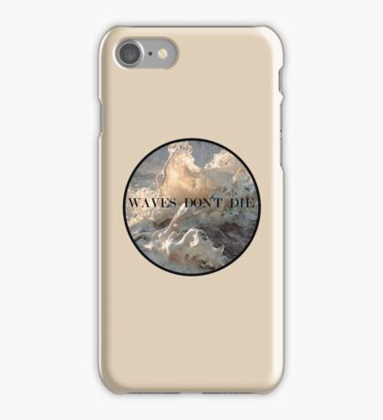 waves by itswendawg iPhone Case/Skin