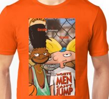 White Men Cant Jump (Hey Arnold) Unisex T-Shirt