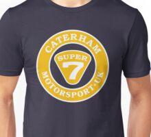 Caterham SUPER 7 UK Motorsport Unisex T-Shirt
