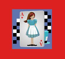 Alice 3D Flying Cards Unisex T-Shirt