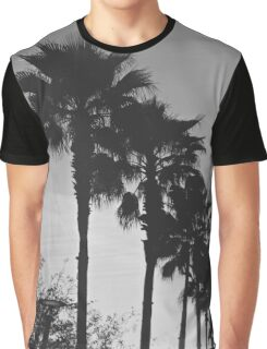Black & White Palm Coast Graphic T-Shirt