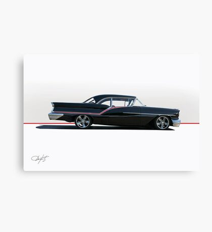 1957 Oldsmobile Super 88 II Canvas Print