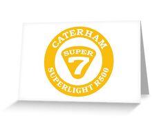 Caterham SUPER 7 Superlight R500 Greeting Card
