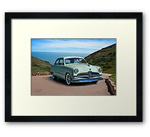 1950 Ford Custom Deluxe Coupe Framed Print