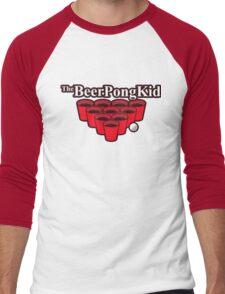 The beer pong kid Men's Baseball ¾ T-Shirt