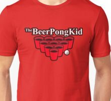 The beer pong kid Unisex T-Shirt