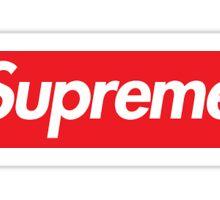 Supreme iPhone Case & Stickers Sticker