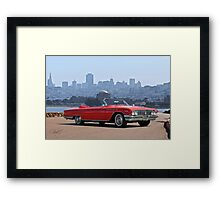 1961 Buick Electra 225 Convertible Framed Print