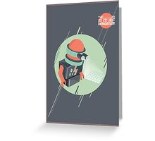 Future is Hollow Graphics Greeting Card