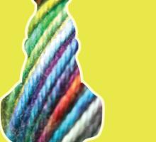 Yarn cat Sticker