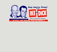 1956 Vote Ike and Dick Unisex T-Shirt