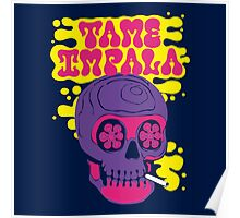 Tame Impala Skull Candy Poster