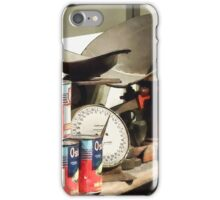 Scale and Canned Goods iPhone Case/Skin
