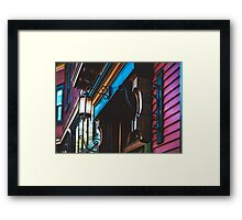 Dynamic Doorway Framed Print