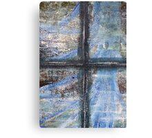 """Blue Window"" Artwork by Carter L. Shepard  Canvas Print"