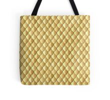 Feather Armor Scales - Gold Tote Bag