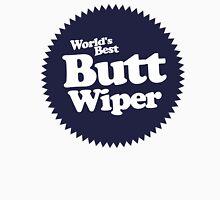 Worlds Best Butt Wiper Womens Fitted T-Shirt