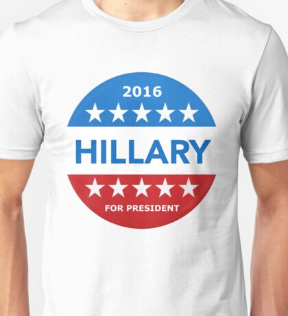 Hillary Clinton Tim Kaine for president Unisex T-Shirt