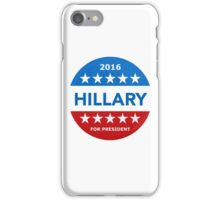 Hillary Clinton Tim Kaine for president iPhone Case/Skin